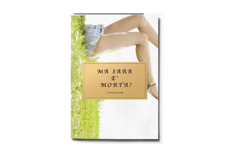 Il libro mostra in copertina le gambe di una ragazza senza il resto del corpo.