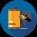 """Logo di """"Sleep Click"""" i tuoi sogni in foto"""