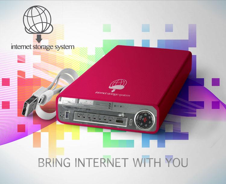 Apparecchio elettronico che porta la tua connessione internet ovunque